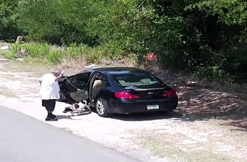 Ύποπτος παππούς παρκάρει στην άκρη του δρόμου - Όμως η κάμερα καταγράφει  τα όσα συμβαίνουν... αυτό που ακολουθεί θα σας κόψει το αίμα!
