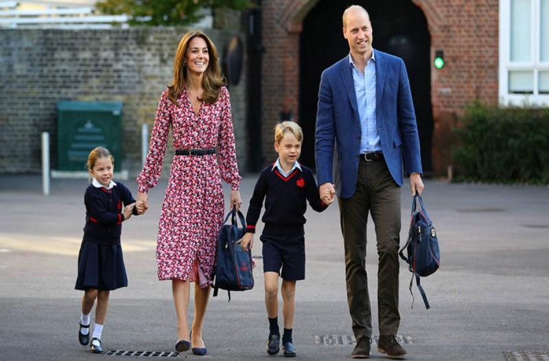 Πανικός στο Μπάκιγχαμ! Συναγερμός για κορωναϊό στο σχολείο του Πρίγκιπα Τζορτζ και της Πριγκίπισσας Σάρλοτ!