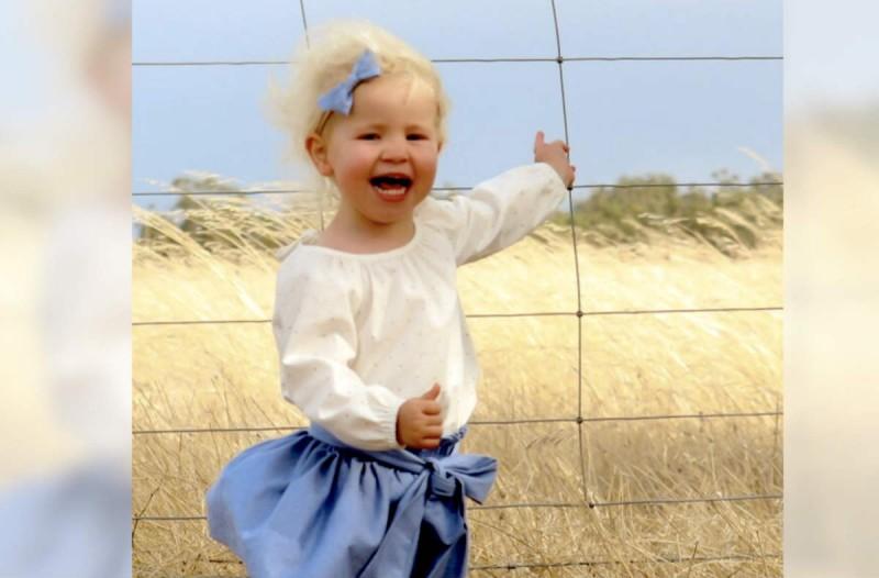 Πίσω από την φωτογραφία κρύβεται ένας θανάσιμος κίνδυνος για το 2χρονο κορίτσι. Μόλις καταλάβετε, θα τρομοκρατηθείτε!
