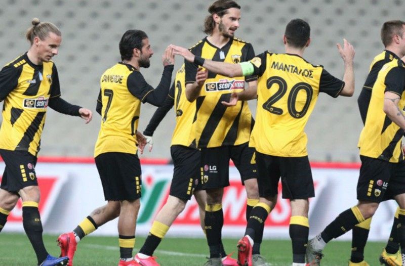 Super League: Επιβλητική εμφάνιση της ΑΕΚ! «Καθάρισε» 3-0 τον ΟΦΗ!