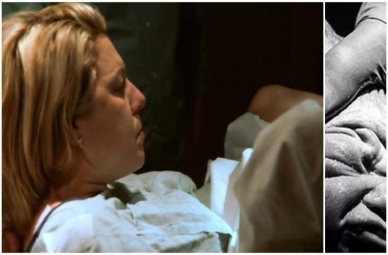 Είδε το κεφάλι του μωρού της όταν γέννησε και κατατρόμαξε...Τότε ο γιατρός της ανακοίνωσε τι είχε συμβεί