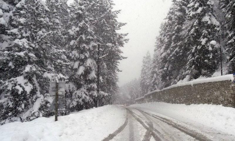 καιρός χιόνια