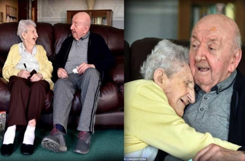 98χρονη γιαγιά μπήκε στο γηροκομείο για να προσέχει τον παππού της φωτογραφίας- Δεν φαντάζεστε ποιος είναι