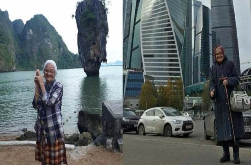 Θα την θέλετε για γιαγιά σας: 90χρονη ξόδεψε όλα της τα χρήματα για να γυρίσει τον κόσμο με το μπαστούνι της και έγινε διάσημη στο instagram