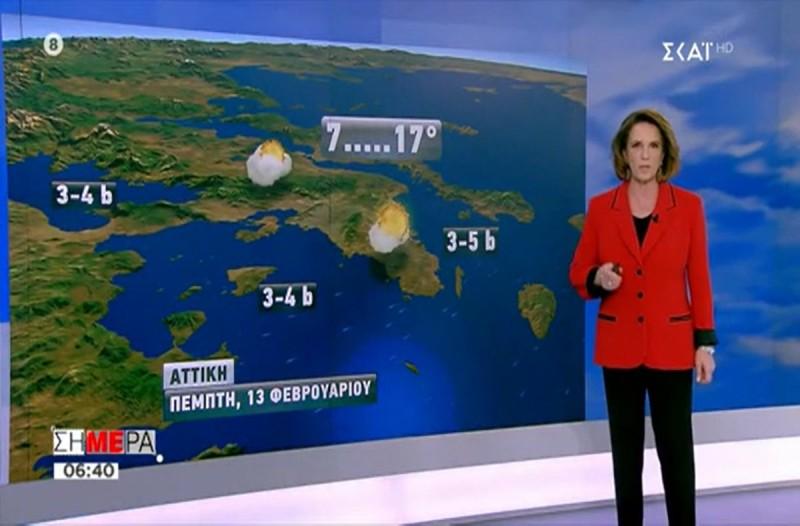 «Έρχονται βροχές σε όλη την χώρα, αλλά από Κυριακή...»! Η Χριστίνα Σούζη προειδοποιεί! (video)