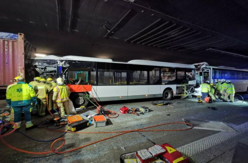 Σοκ στο Βέλγιο! Ένας νεκρός και 49 τραυματίες από απίστευτο πολλαπλό τρακάρισμα! (photo)