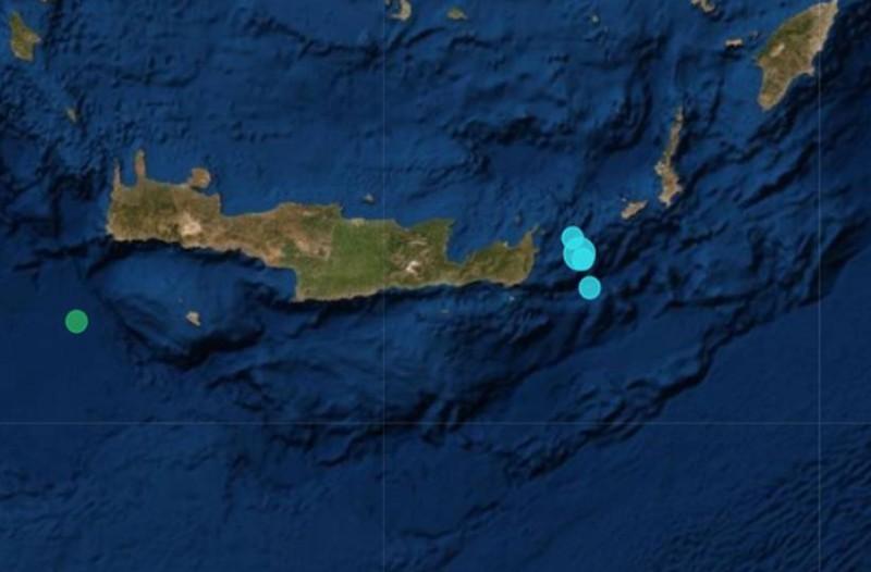 Διπλός δυνατός σεισμός στην Κρήτη!
