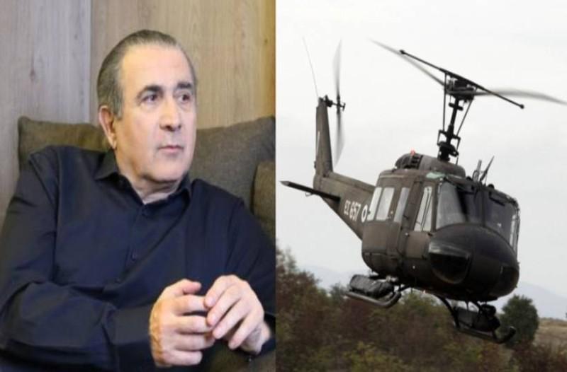 Η μυστήρια πτώση ελικοπτέρου που σκοτώθηκε ο σκηνοθέτης του Λαζόπουλου!