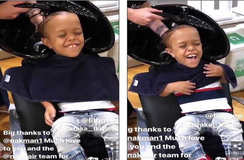 Συγκινεί για ακόμα μια φορά ο 9χρονος με νανισμό - Του έκαναν ολικό makeover και γέλασε από χαρά