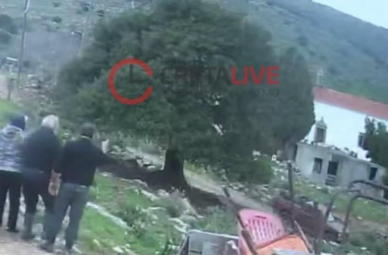 Απίστευτο! Βίντεο που κόβει την ανάσα από το φονικό στο Λασίθι!