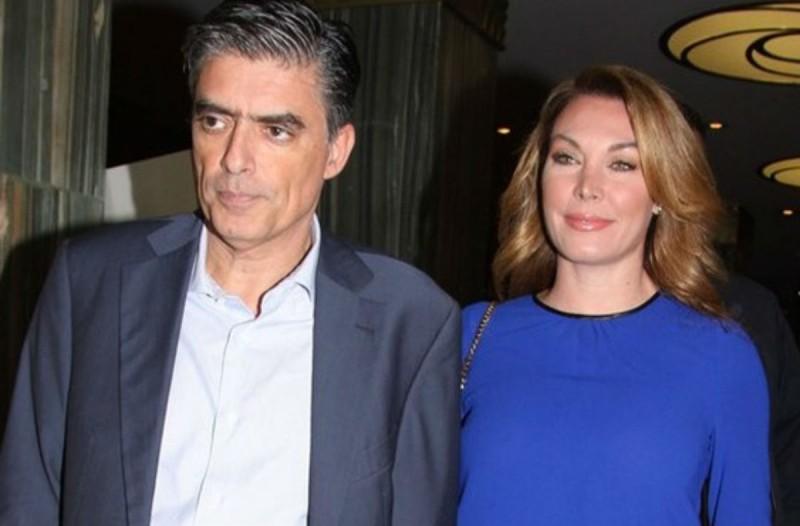 Ο Νίκος Ευαγγελάτος μαζί με την πρώην γυναίκα του! «Κόκκαλο» η Τατιάνα Στεφανίδου! (photo)