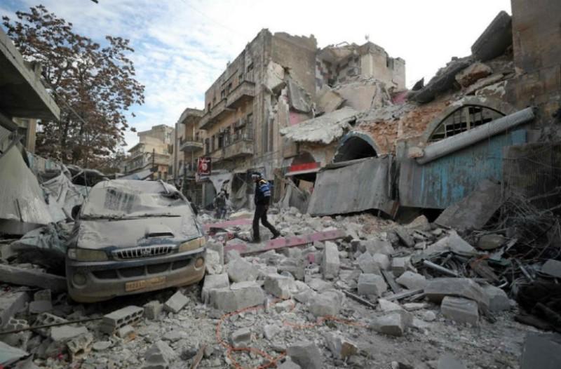 Μακελειό στη Συρία: 14 νεκροί από βομβαρδισμούς!