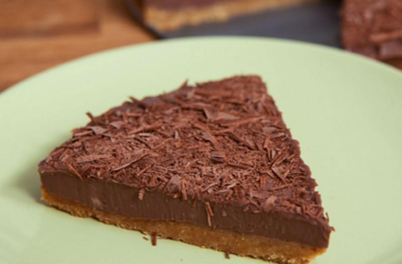 Τούρτα σοκολάτας με γιαούρτι σε 10 λεπτά!