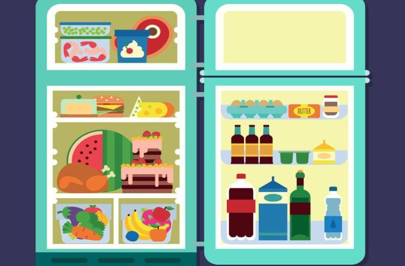 Τρόφιμα ψυγείο δεν βάζουμε