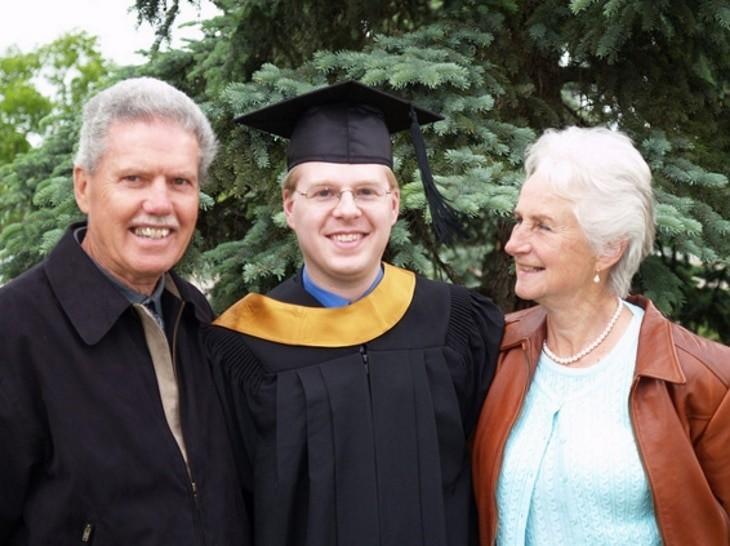 φωτογραφία με τη γιαγιά