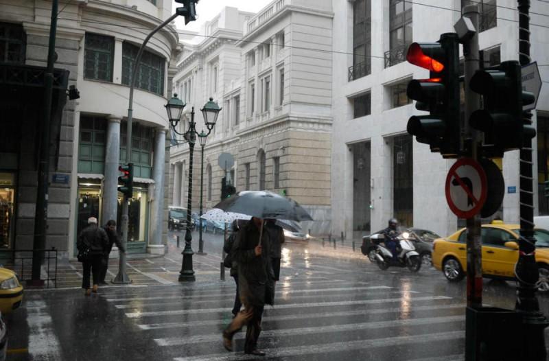 Καιρός σήμερα: Βροχές και ... χιόνια - Αναλυτική πρόγνωση