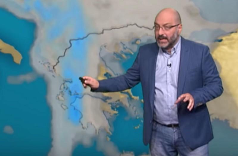 «Έρχεται κύμα κακοκαιρίας - Ραγδαία επιδείνωση του καιρού» - Προειδοποίηση από τον Σάκη Αρναούτογλου (Video)