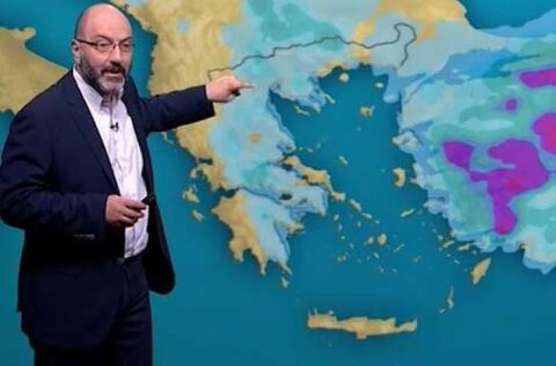 «Ο Απρίλιος έρχεται με κακοκαιρία και χιόνια» - Έκτακτη προειδοποίηση από τον Σάκη Αρναούτογλου