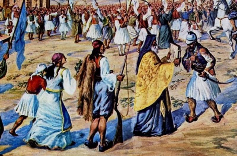 182 χρόνια πριν - Σαν σήμερα το 1838 γιορτάζεται για πρώτη φορά επίσημα η επέτειος της 25ης Μαρτίου