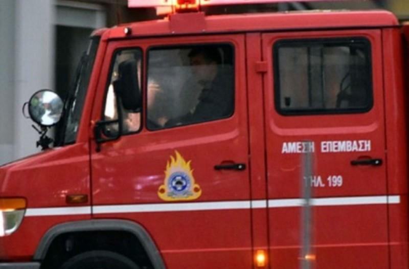 Συναγερμός στην Πυροσβεστική - Φωτιά σε εργοστάσιο στην Εύβοια