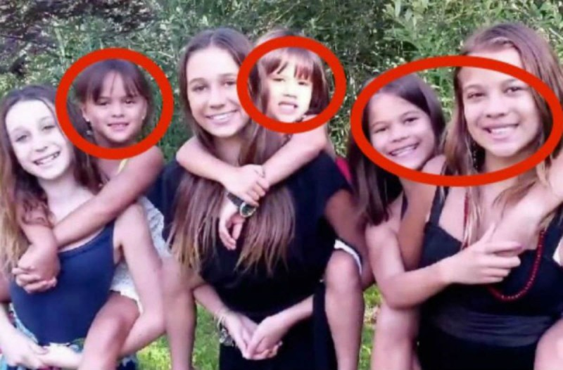 Μοιάζει με όμορφη οικογένεια - Η ιστορία πίσω από τη φωτογραφία θα σας σοκάρει