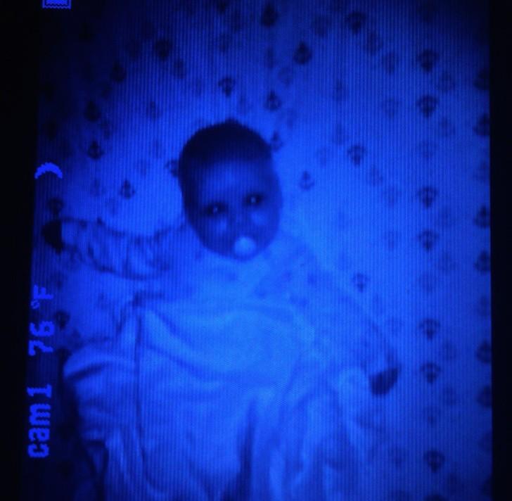 ανατριχιαστικό μωρό