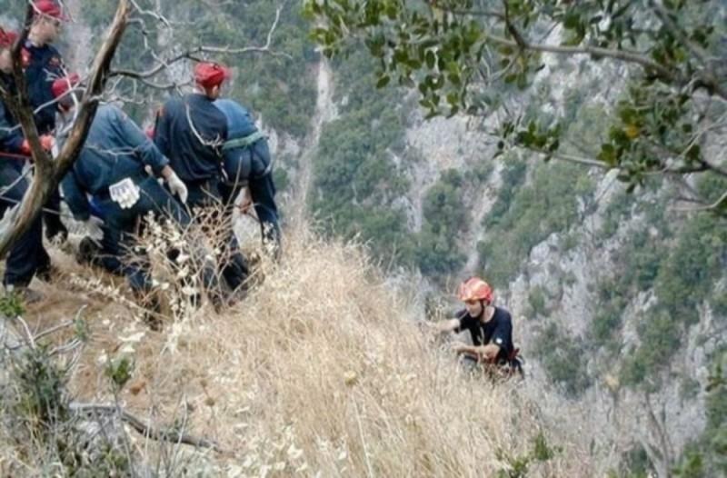 Εύβοια: 21χρονος ορειβάτης έπεσε σε γκρεμό και έχασε την ζωή του