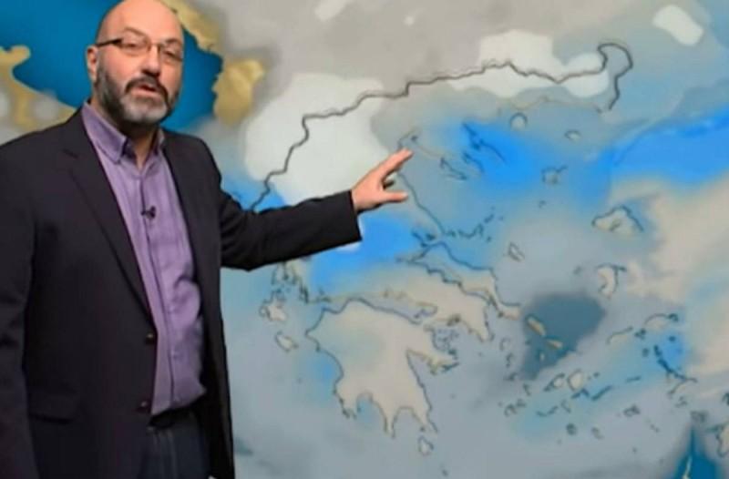«Θα έρθουν βροχές και χιονοπτώσεις με αφρικανική σκόνη από…»! Ο Σάκης Αρναούτογλου προειδοποιεί! (video)