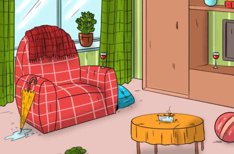 ψυχολογικός γρίφος δωμάτιο