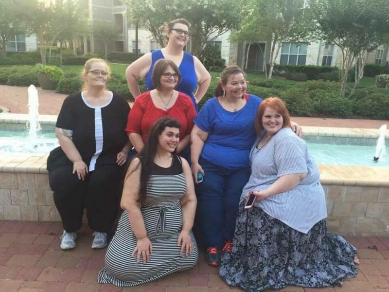 υπέρβαρες γυναίκες