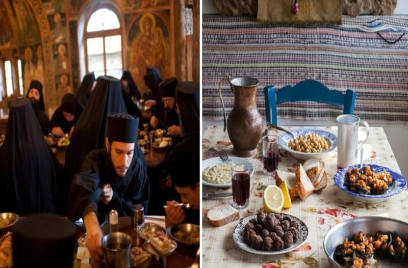 Το μυστικό των μοναχών του Αγίου Όρους για μακροζωία - Αυτά τρώνε την Σαρακοστή
