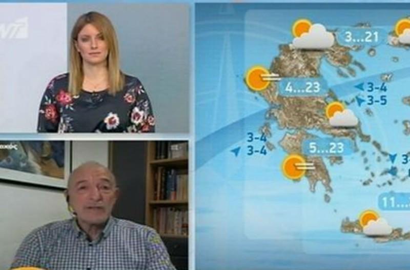 «Ο καιρός θα ακολουθήσει την πορεία που ακολουθεί κάθε Πάσχα» - Η πρόγνωση του Τάσου Αρνιακού για την Μεγάλη Εβδομάδα (Video)