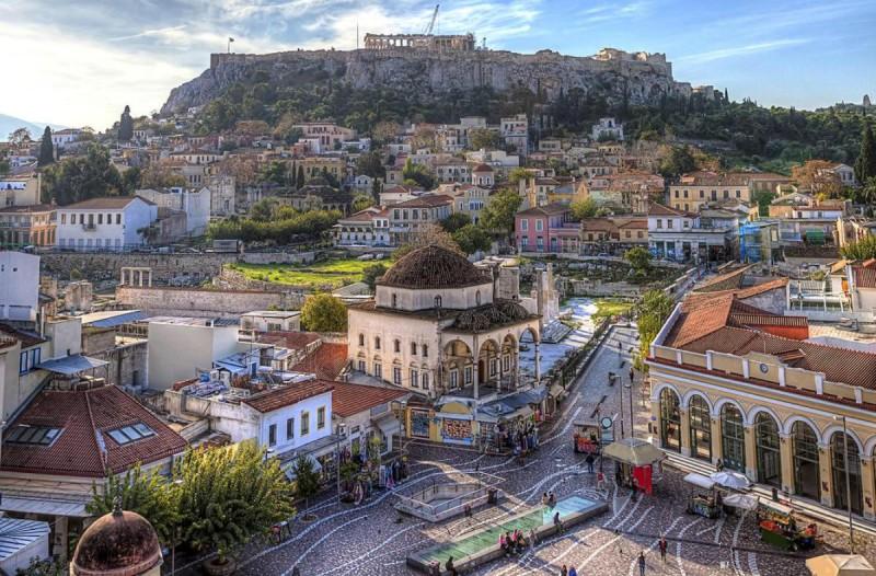Η φωτογραφία της ημέρας: Στην όμορφη Αθήνα!