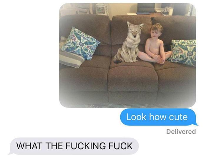 Έστειλε μια φωτογραφία στον άντρα της