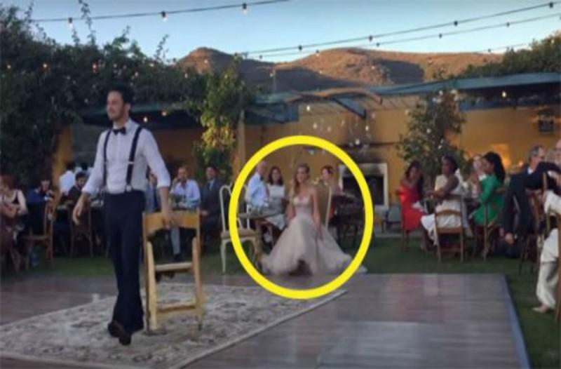 Όταν η νύφη έκανε αυτό στον γαμπρό έμειναν όλοι άφωνοι - Αυτό που ακολούθησε δεν το πίστευαν