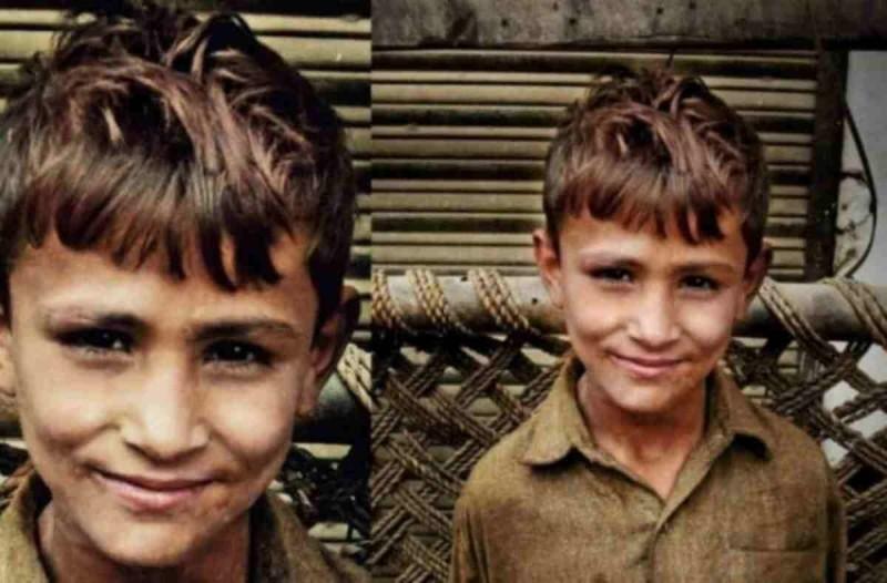 Θα δακρύσετε: Αυτό το αγόρι χτύπησε μια πόρτα για να ζητήσει φαγητό - Εκείνος που του άνοιξε όμως του έδωσε πολλά περισσότερα