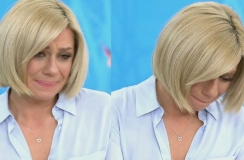 «Λύγισε» και ξέσπασε σε δάκρυα στον «αέρα» η Κατερίνα Καραβάτου - Τι συνέβη; (Video)