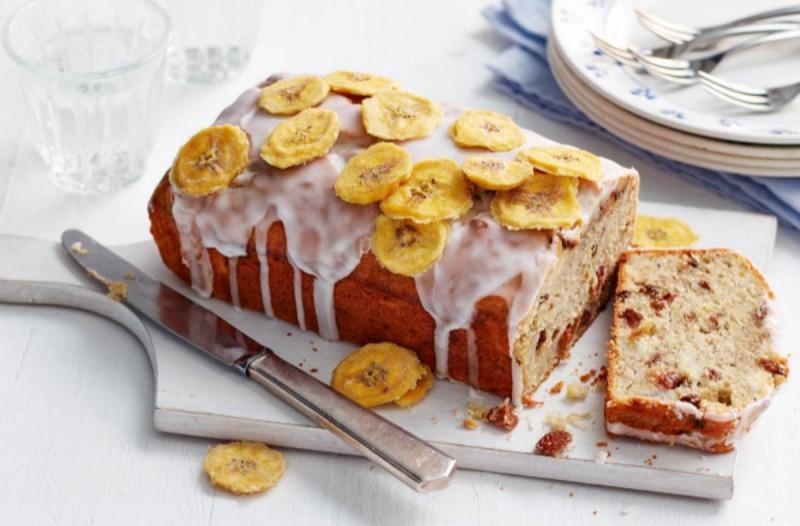 Αφράτο κέικ μπανάνας με γιαούρτι!