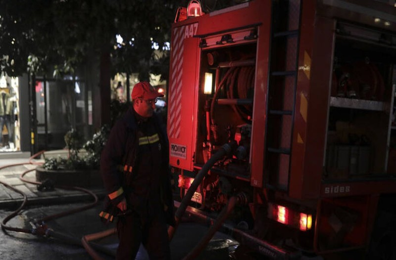 Τραγωδία στην Καλαμαριά - Κάηκε άνδρας μέσα στο σπίτι του