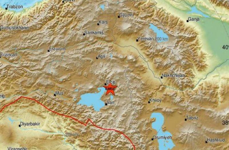 Σεισμός 4,7 Ρίχτερ στην Τουρκία