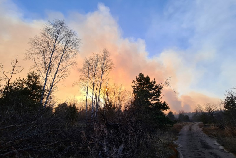 Τσερνόμπιλ πυρκαγια