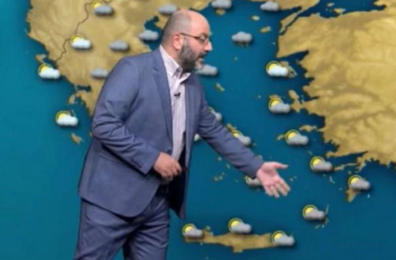 «Ψυχρή διαταραχή θα χτυπήσει τη χώρα - Θα πέσουν χιόνια» - Προειδοποίηση από τον Σάκη Αρναούτογλου (Video)