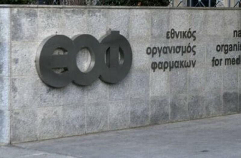 Έκτακτη ανακοίνωση από τον ΕΟΦ: Απαγόρευση διακίνησης τριών προϊόντων