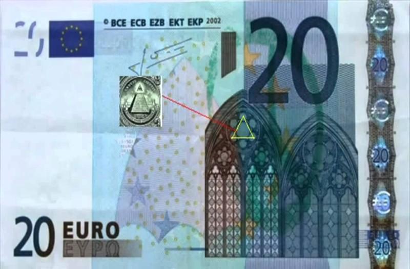 Το χαρτονόμισμα των 20 ευρώ και η σύνδεσή του με τους...Παρατηρήστε το καλύτερα