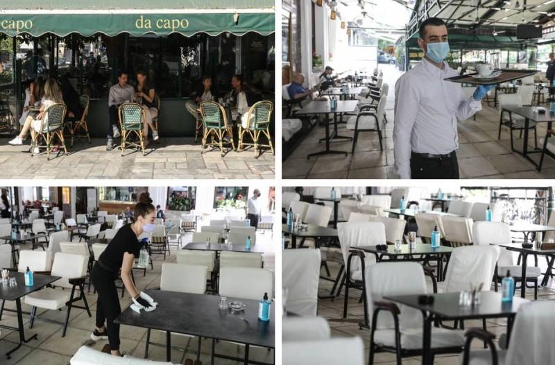Άρση Μέτρων: Γέμισαν κόσμο τα καφέ στο Κολωνάκι με το