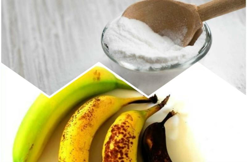 Έβαλε στο πρόσωπο μαγειρική σόδα μαζί με μπανάνα - Ο λόγος θα σας
