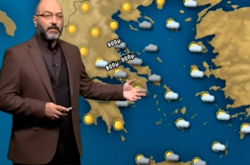 «Καταιγίδες και ψύχρα σε αυτές τις περιοχές της Ελλάδας με πτώση της θερμοκρασίας στους...» - Πρόγνωση του καιρού από τον Σάκη Αρναούτογλου