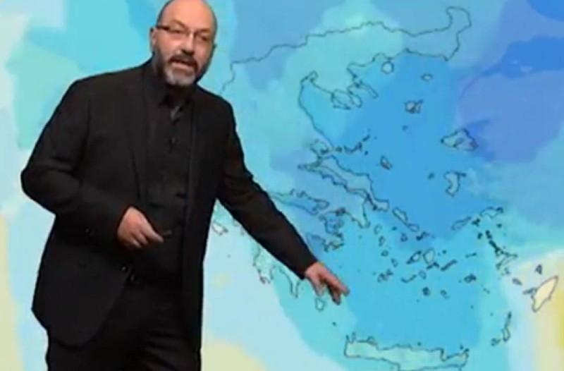 «Θεμοκρασία στους 40 βαθμούς από την Παρασκευή και μέχρι...» - Ο Σάκης Αρναούτογλου προειδοποιεί για τον καιρό