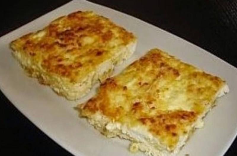 Πανεύκολη τυρόπιτα με 2 κινήσεις. Έτοιμη σε 10 λεπτά στο φούρνο