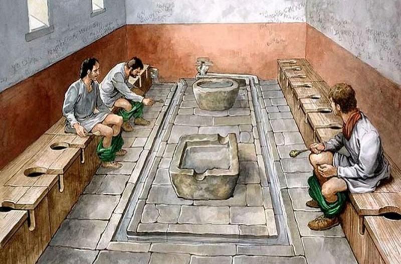 Τι χρησιμοποιούσαν οι Αρχαίοι Ρωμαίοι αντί για χαρτί υγείας;